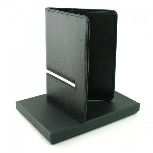 West Side Leather Passport Holder (Black)