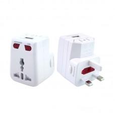 Travel Adaptor with USB Hub