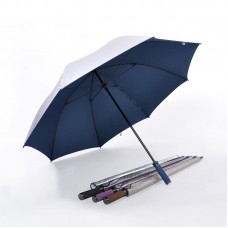 Pearl Sheen Fabric, Ultra Lightweight Golf Umbrella (Navy Blue)