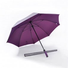 Pearl Sheen Fabric, Ultra Lightweight Golf Umbrella (Purple)