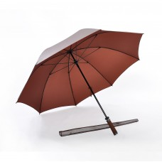 Pearl Sheen Fabric, Ultra Lightweight Golf Umbrella (Brown)
