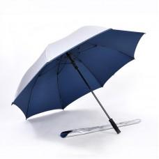 Popular Auto Open, UV Coated, Windproof Golf Umbrella (Navy Blue)-HKGG282SPW-NB