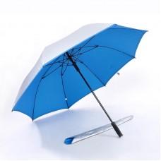 Popular Auto Open, UV Coated, Windproof Golf Umbrella (Light Blue)-HKGG282SPW-NB