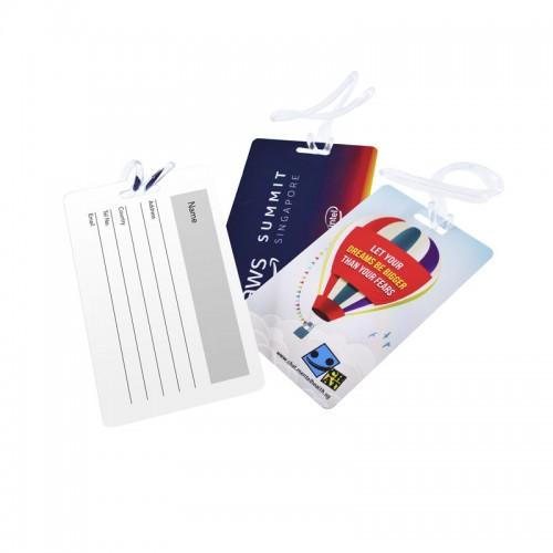 PVC Card Luggage Tag