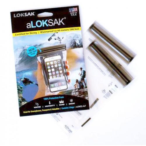"""Loksak Water Proof Bag-4''x 7"""""""