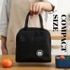 Insulation Lunch Handbag Canvas Bags Fresh