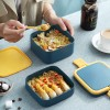 Double Layer Square Lunch Box