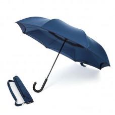 Reverse umbrella. Unique yet functional (Navy Blue)-HKUF500PW-NB
