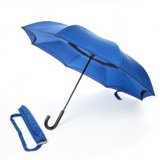 Reverse umbrella. Unique yet functional (Royal Blue)-HKUF500PW-RB