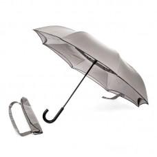 Reverse umbrella. Unique yet functional (Grey)-HKUF500PW-GRY