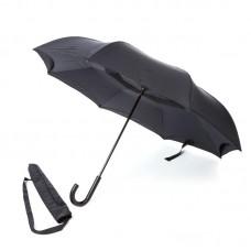 Reverse umbrella. Unique yet functional (Black)-HKUF500PW-BLK