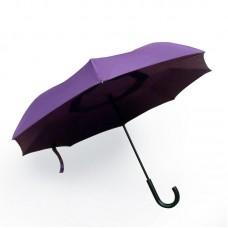 Reverse umbrella. Unique yet functional (Purple)-HKUF500PW-PUR