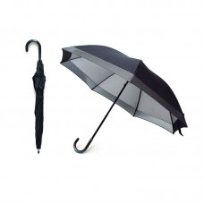 Ranklex 2 Fold Manual Open Straight Umbrella