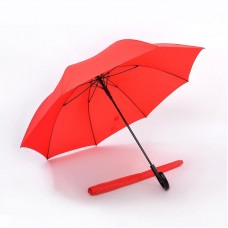 Premium and Sleek Extra Long Umbrella (Red)