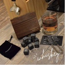 Customized Whiskey Stones Gift Set