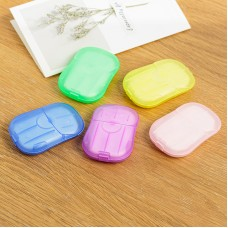 PORTABLE DISPOSABLE PAPER SOAP