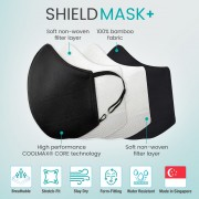 ShieldMask+ Face Mask for Kids & Adults