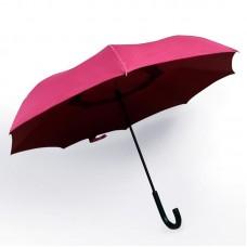 Reverse umbrella. Unique yet functional (Maroon)-HKUF500PW-MRN