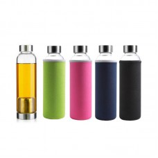 Glass Bottle - 380ml with Tea Brewer