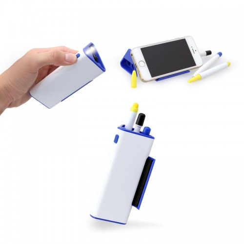Pen Set with Phone Holder & Torchlight
