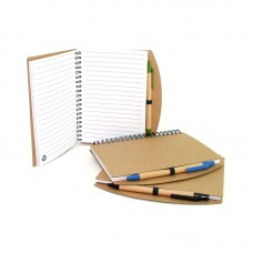 Eco-Friendly Notebook with Pen