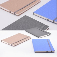 Fabric Canvas Cover Diary Notebook
