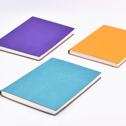Personalised Colourful Leather Notebook Journal