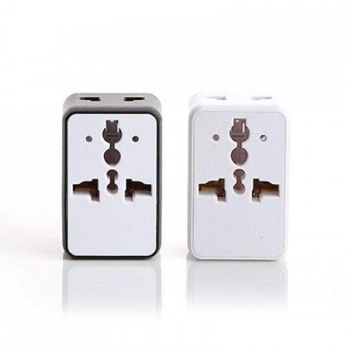 Kourtney Mini Travel Adapter with USB