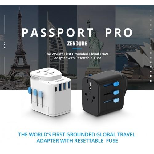 Zendure Passport Pro Travel Adapter